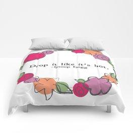 Floral - Drop It Comforters