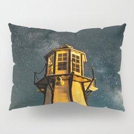 Mountain Light House Two Pillow Sham