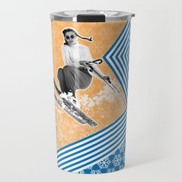 Ski Like a Girl Travel Mug
