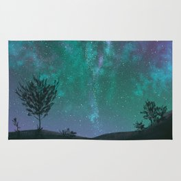 Under The Sky Full Of Stars, I'd Still Stare At You Rug