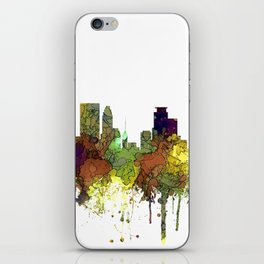 Minneapolis, Minnesota Skyline SG - Safari Buff iPhone Skin