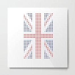 UK Flag Metal Print