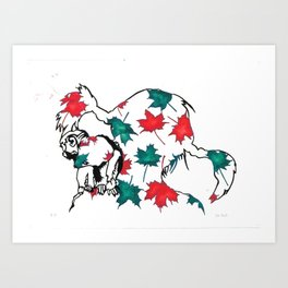 Princess Pippilotta & Mr Nilsson VII-X Art Print