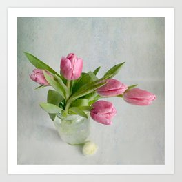 Gifts from the garden Art Print