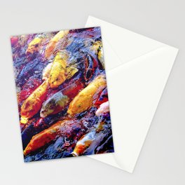 Koi Krazy Stationery Cards