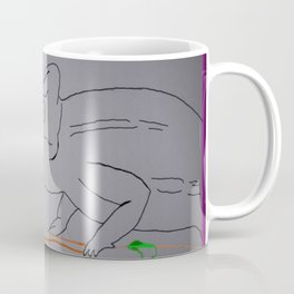 Thoughtful Cameleon Coffee Mug