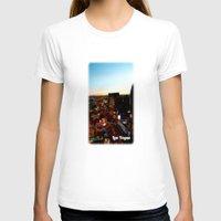 las vegas T-shirts featuring Las Vegas by Natasha Jones