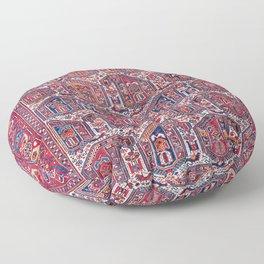 Khamseh Fars Southwest Persian Rug Print Floor Pillow
