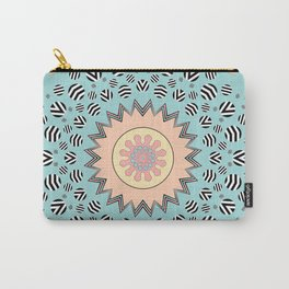 Pastel Mandala Carry-All Pouch