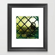 Sacred Heart (Lovelocked) Framed Art Print