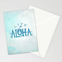 Live Aloha Stationery Cards