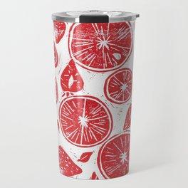 Blood Oranges & Strawberries Travel Mug