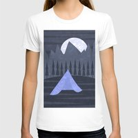 camping T-shirts featuring Camping by Illusorium