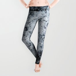 Ice Frost Crystals Leggings