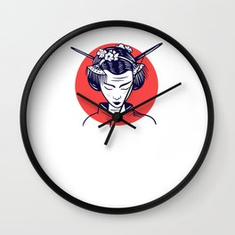 Japanese women are the better women Wall Clock