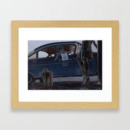 Endsville Framed Art Print