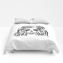 *Wild* - digital disstressed illustration Comforters