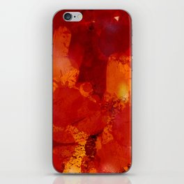 Profondo Rosso Abstract Art Expressionist iPhone Skin