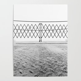 Ferry Fence Poster