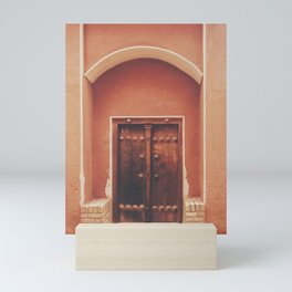 Abyaneh Door #2 (from the series 'Iranian Doors') Mini Art Print