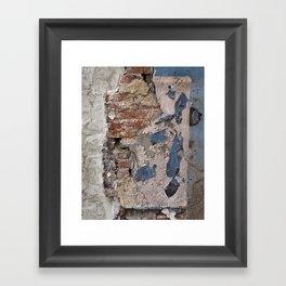 wall. Framed Art Print