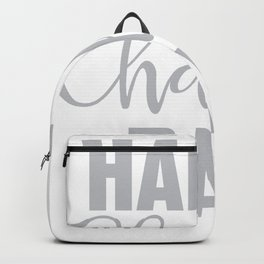 Happy Challah Day Backpack