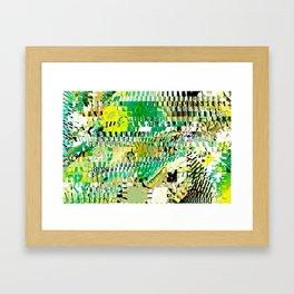 Meditation Transformation #3 Framed Art Print