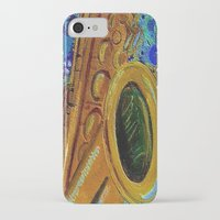 saxophone iPhone & iPod Cases featuring Saxophone  by gretzky