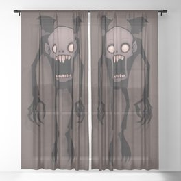 Nosferatu Sheer Curtain