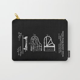 Piano Patent Carry-All Pouch