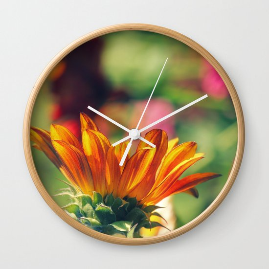 Sweet Flower of Mine Wall Clock