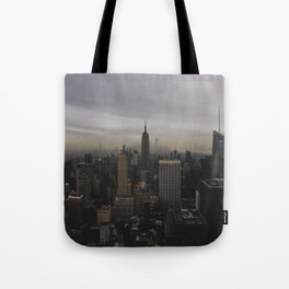 New York Gloomberg Tote Bag