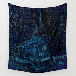 The Skull and the Key Wall Tapestry
