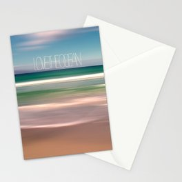 LOVE THE OCEAN I Stationery Cards