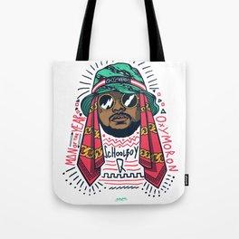SchoolboyQ Tote Bag