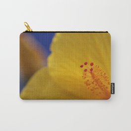 Yellow Hibiscus close up Carry-All Pouch