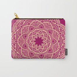 Pinkie Mandala Carry-All Pouch