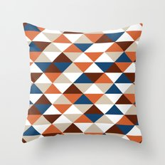 Triangle Pattern #5 Throw Pillow