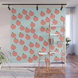 Funny Peach Wall Mural