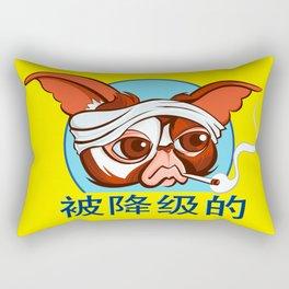 Busted Rectangular Pillow