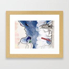 Follow the Dream Framed Art Print