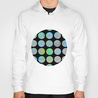dots Hoodies featuring Dots  by LebensARTdesign