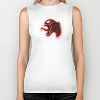 carnage Biker Tanks featuring Carnage by KitschyPopShop