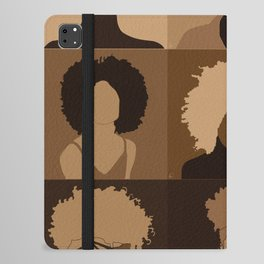 FOR BROWN GIRLS COLLECTION COLLAGE iPad Folio Case