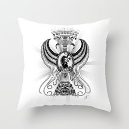 Chalice of life Throw Pillow