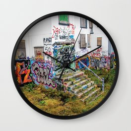 Trap House Wall Clock