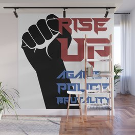 BLM Protest - Rise Up 2 Wall Mural
