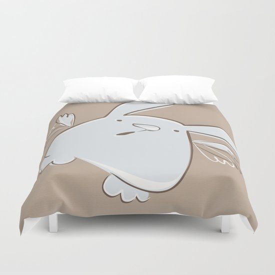 I believe I can fly Duvet Cover