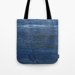 Metallic blue abstract watercolor background Tote Bag