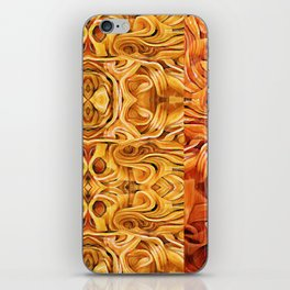 Abstract Chinese Noodle iPhone Skin